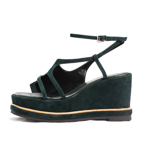 WAVE WEDGE SANDALS NUH4523GN