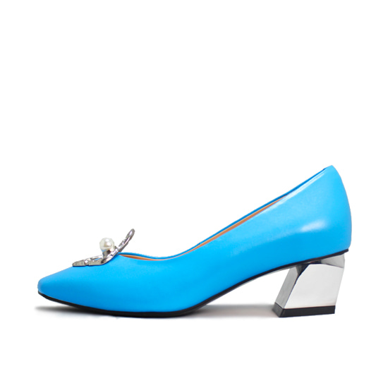 PEARLY PUMPS NS112BL