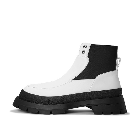 TRACK SOLE MODERN BOOTS NUH4591WH