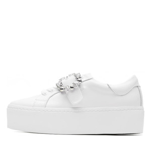 JEWEL BUCKLE SNEAKERS NUH4464WH