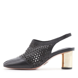 PUNCHING SLINGBACK PUMPS NUH6018BK