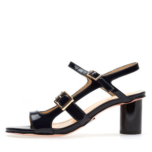THREE STRAP PATENT SANDALS NUH4489NA