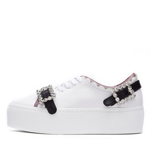 BACK BUCKLE WAVE SNEAKERS NUH4474WH