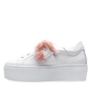 SOFT FUR SNEAKERS NUH4514WH