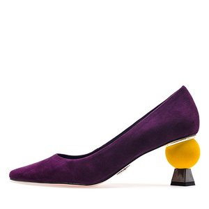 VELVET POINT HEEL PUMPS NUH4506PU