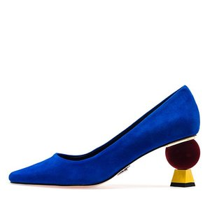 VELVET POINT HEEL PUMPS NUH4506BL
