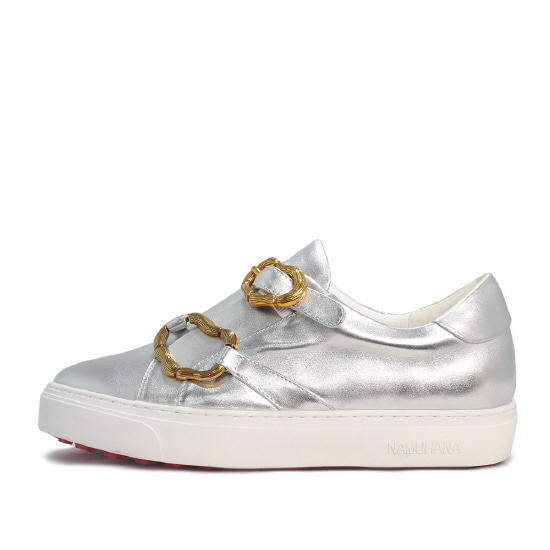TWO METAL SNEAKERS NUH4532SI