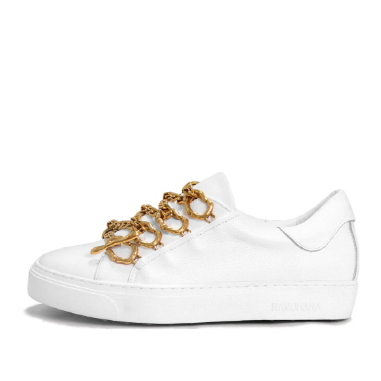 METAL LACE SNEAKERS NUH4531WH