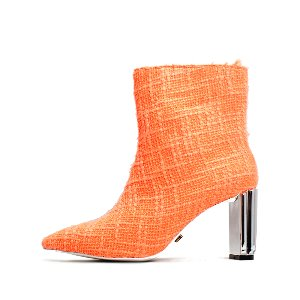 TWEED LINE ANKLE BOOTS NUH4549OR