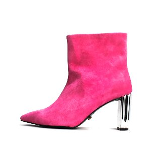 LEATHER LINE ANKLE BOOTS NUH4551PI