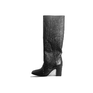 BACK STITCH LONG BOOTS NUH4557BK