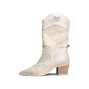 MIDDLE HEEL WESTERN BOOTS GG008IV