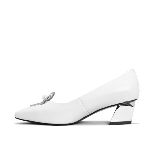PEARLY PUMPS NS112WH