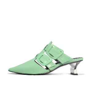 TWO BUCKLE MULES NUH4559GN
