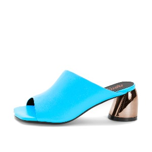 SQUARE TOE OPEN MULES NUH4569BL