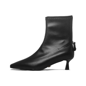 SKIN ANKLE BOOTS NUH4596BK